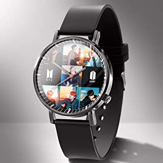 Bosunshine - Kpop BTS Watch Waterproof Wristwatch