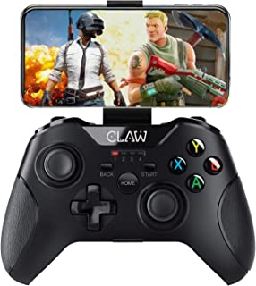 CLAW Shoot Bluetooth Mobile Gamepad Controller for Android Phones, Tablets & Windows PC, Laptops with Button Mapping Featu...
