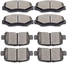 SCITOO Ceramic Disc Brake Pads Set fit 2003-2008 Honda Pilot