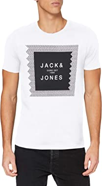 Jack & Jones Jcocap Tee SS Crew Neck T-Shirt Homme