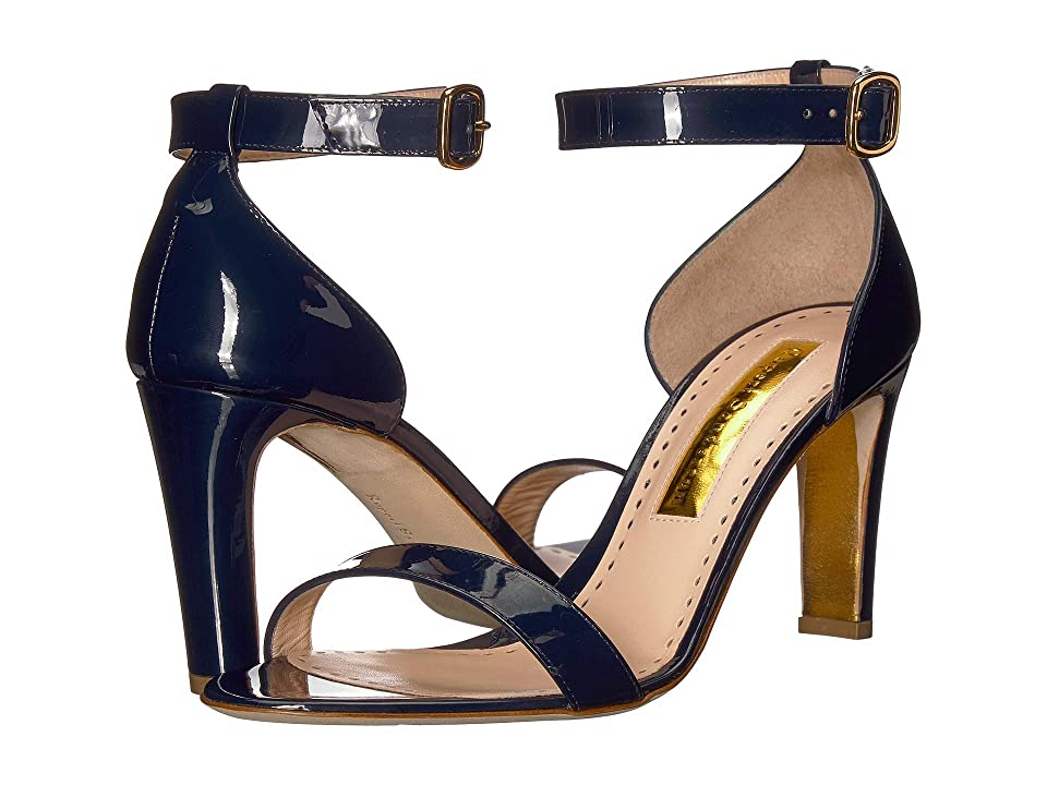 Rupert Sanderson Barrii (Midnight Patent) High Heels