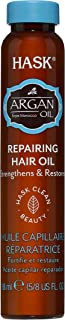 Hask Argan Oil Healing Shine Hair Treatment, 18 ml