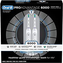 Oral-B ProAdvantage 6000 Rechargeable Electric Toothbrush (2-Pack)
