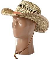 San Diego Hat Company - PBC1024 Rush Straw Chin Cowboy