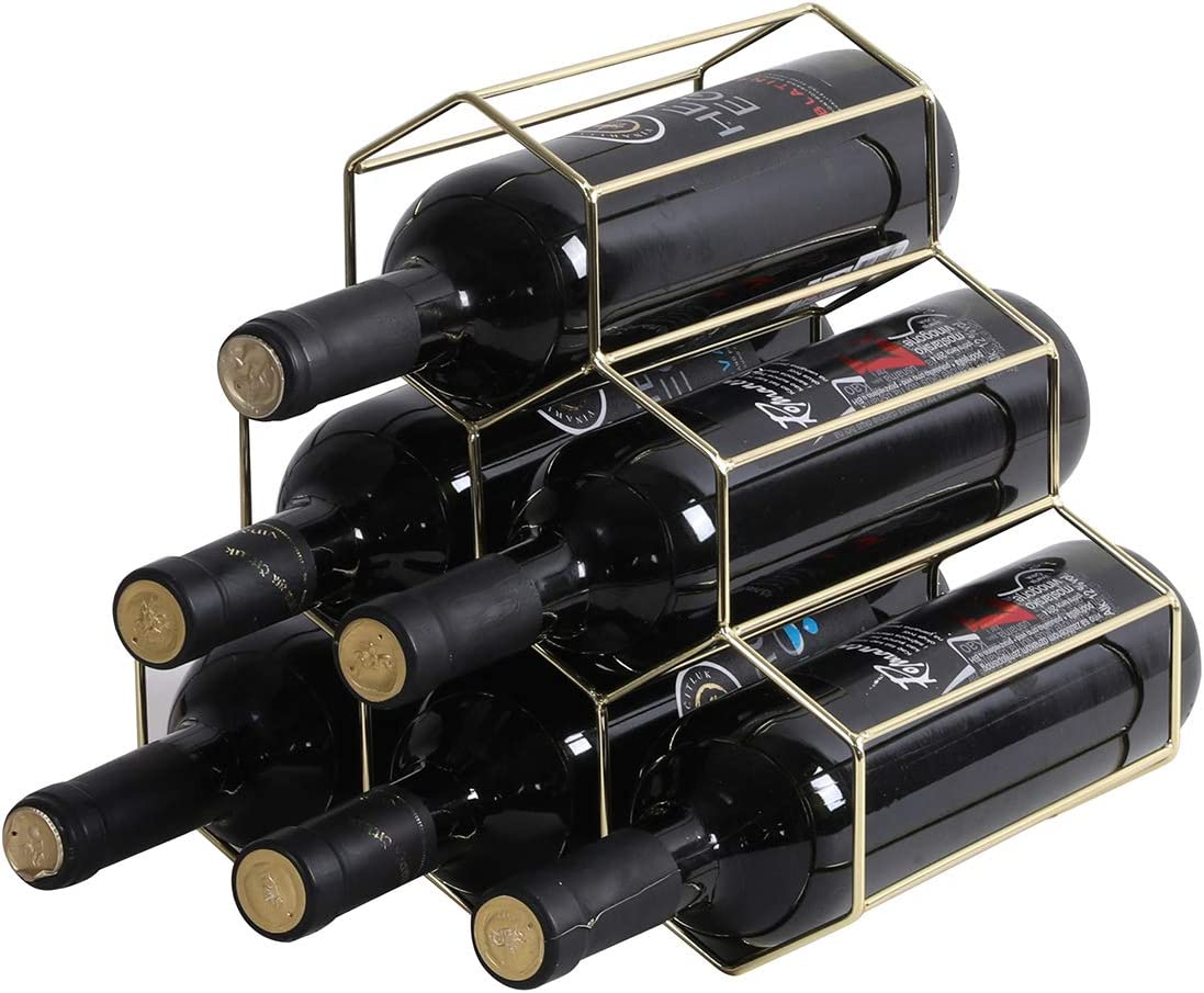 YCOCO Wine Rack Freestanding Fort Worth Mall Seattle Mall Bottle Count 6 shoneycomb