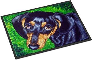 "Caroline's Treasures AMB1173MAT Tootsie Dachshund Indoor or Outdoor Mat, 18"" x 27"", Multicolor"