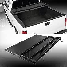 Soft Vinyl Tri-Fold Truck Cargo Bed Tonneau Cover Black for 2004-2014 Ford F-150 / 2006-2008 Lincoln Mark LT 5.5 Feet (66