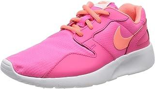 NIKE Kaishi Gs, Girls' Nike Girl's Kaishi GS Footwear - Pink/Orange/White, Size 3