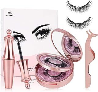 Ciglia Magnetiche con Eyeliner Magnetico, joylink Ciglia Magnetiche, Impermeabile Eyeliner Pen Magnetico, 3D Naturali Cigl...