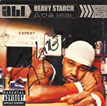 Ali Autographed Signed Heavy Starch CD Cover UACC RD COA AFTAL