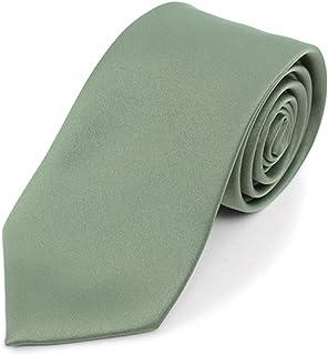 Boy's Age 12-18 Solid Color Poly Neck Tie