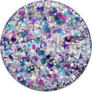 Amerikan Body Art Glitter Creme - Galaxy (10 gm), Cosmetic Polyester Glitter in Creamy Base, Great for Face Paint, Glamour...