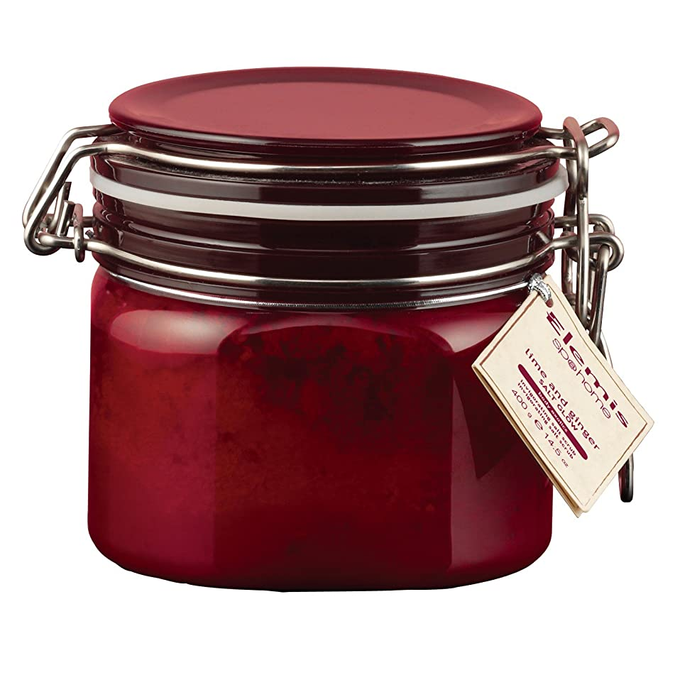 食料品店情熱後ろにエレミスライムとジンジャーソルトグロー410グラム (Elemis) (x2) - Elemis Lime and Ginger Salt Glow 410g (Pack of 2) [並行輸入品]