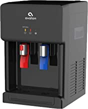Avalon Countertop Self Cleaning Bottleless Water Cooler Water Dispenser - Hot & Cold Water, NSF Certified Filter- UL/Energy Star Approved- Black