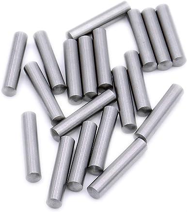 6 12 mm D/übelstift f/ür Holzbearbeitung massiv 16 St/ück D/übel Zentrierspitze langlebig Ausrichtungswerkzeug f/ür Holzarbeiten Bohrwerkzeuge