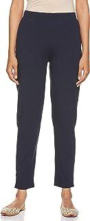 Aurelia Women's Straight Fit Pants (19AUA60052-601123_Blue_S)