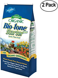 Espoma Organic Bio-Tone Starter Plus All Natural Plant Food - 4 lb Bag BTS4-2 Pack