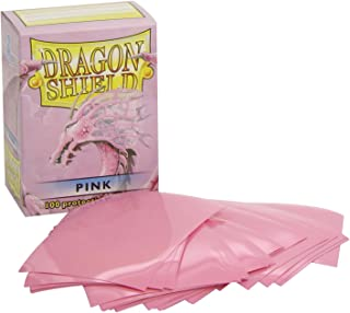 Dragon Shield Protective Card Sleeves (100 Count), Pink