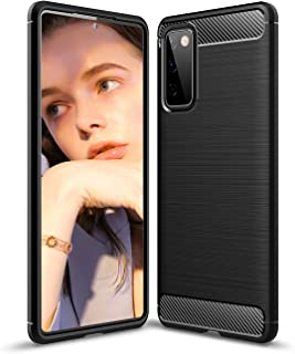 Case for Samsung Galaxy S20 FE Case, Samsung Galaxy S20 FE Silicone Cover Case, Stylish Slim&Thin Carbon Fiber Pattern Pho...