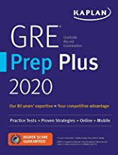 GRE Prep Plus 2020: 6 Practice Tests + Proven Strategies + Online + Video + Mobile..