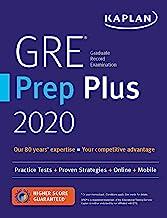 GRE Prep Plus 2021: 6 Practice Tests + Proven Strategies + Online + Video + Mobile..