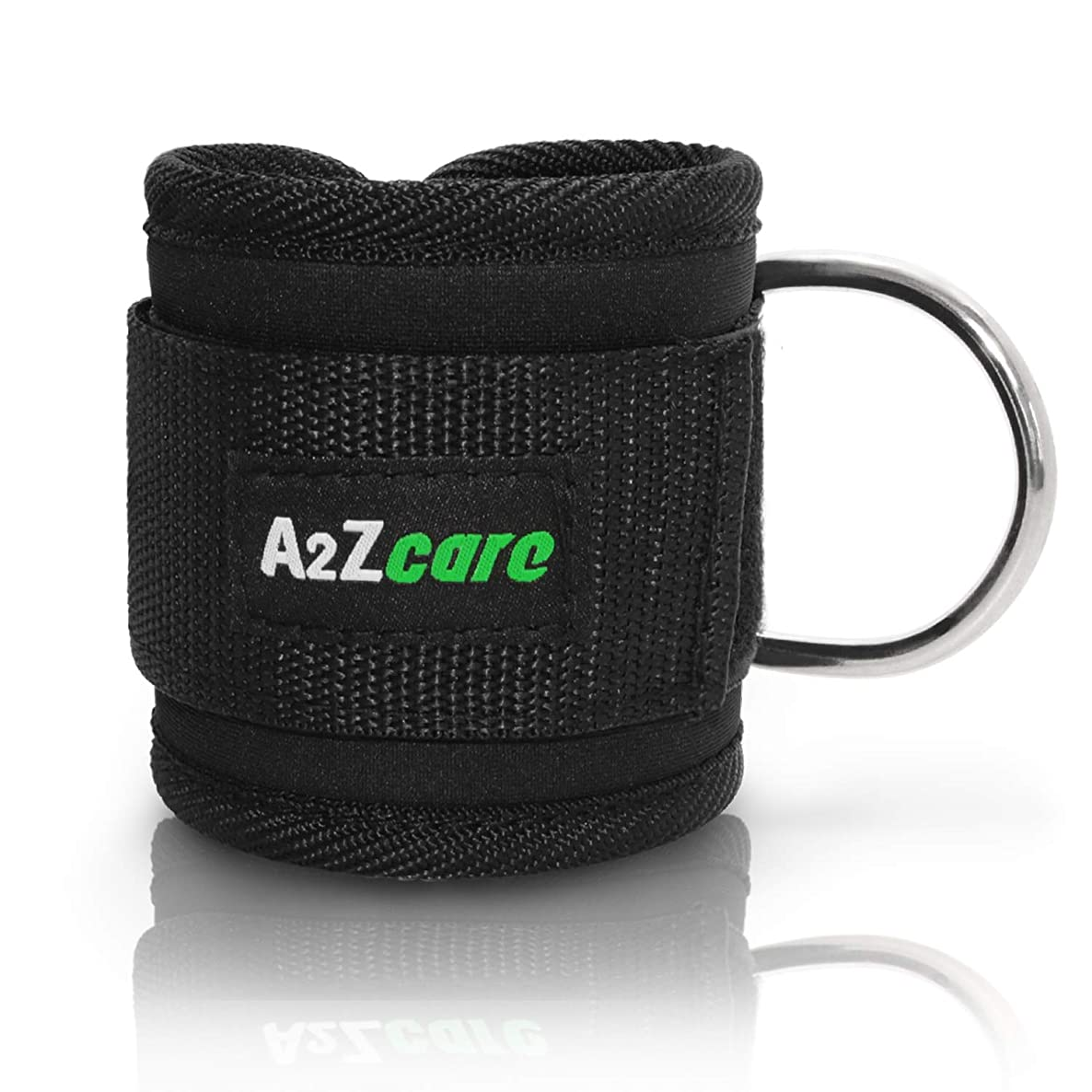 A2ZCARE Padded Ankle Strap for Cable Machines | D-Ring Ankle Cuff Gym Accessories for Workouts - Ankle Strap Cable Attachments for Leg Exercises cmsgkroycdhacqeq