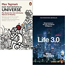 Our Mathematical Universe & Life 3.0 Being Human in the Age of Artificial Intelligence By Max Tegmark 2 Books Collection Set