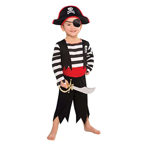 457b8426cd5b Christy's Toddler Rascal Deckhand Pirate Costume (3-4 Years)