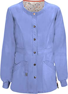 Code Happy Women's Bliss W/Certainty Snap Front Warm-up Jacket