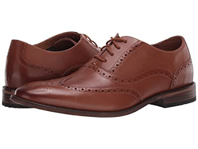 Bostonian Lamont Wing (Dark Tan Leather) Men