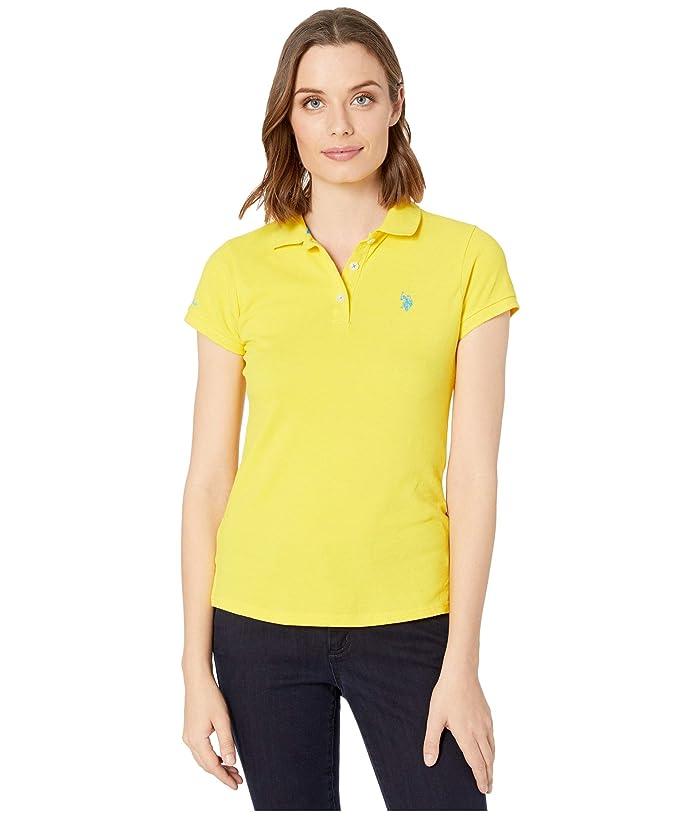 U.S. POLO ASSN. Solid Pique Polo Shirt