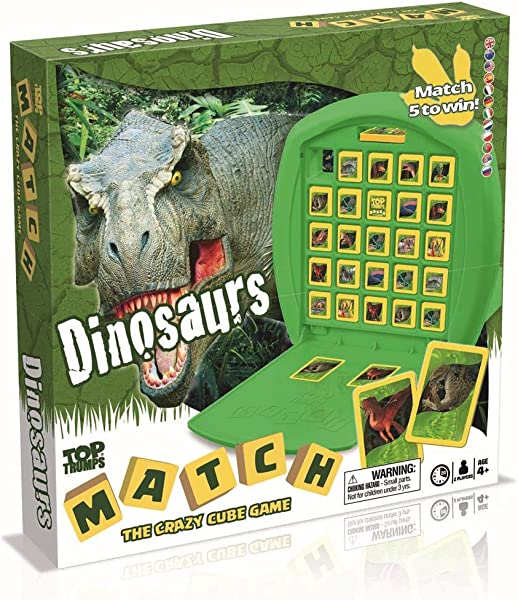 Dinosaurs Match Top Trumps Board Game