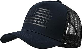 کلاه بیس بال VIONLAN کلاه ضربه محکم و ناگهانی پرچم آمریکا پرچم آمریکا برای مردان زنان 3D برجسته آرم قابل تنظیم کلاه مش