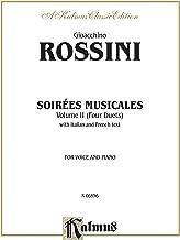 soirees musicales (4duets), (2: nos. 1& 2من أجل 2sopranos ، رقم 3لهاتف soprano & tenor ، رقم 4من أجل tenor Bass ، octavo المقاس (I/F) (فرنسا ، الإيطالي... كتاب (إصدار kalmus) (إصدار French)