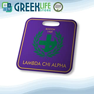 Lambda Chi Alpha Aluminum Bag Tag