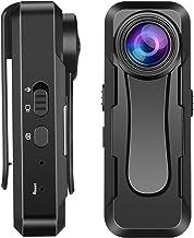 小型カメラ 隠しカメラ【Sony307センサー搭載 フル1080P 超高画質】 30g超軽量 クリップ ウエアラブル 小型ビデオカメラ 録画・撮影・録音 128GB対応 長時間撮影 会議/授業/防犯対策/オリンピック鑑賞など対応 日本語説明書付き