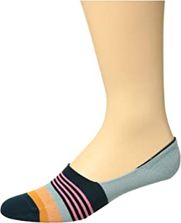 Multi Stripe Liner Socks