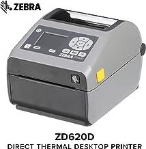 $760 » Zebra - ZD620d Direct Thermal Desktop Printer with LCD Screen - Print Width 4 in - 300 dpi - Interface: WiFi, Bluetooth, Ethernet, Serial, USB - ZD62143-D01L01EZ