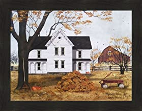 PUMPKINS FOR SALE by Billy Jacobs 9x21 FRAMED PRINT Wagon Barn Autumn Fall