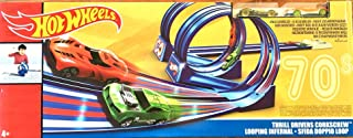 Hot Wheels Throwback Thrill Drivers Corkscrew Track Set