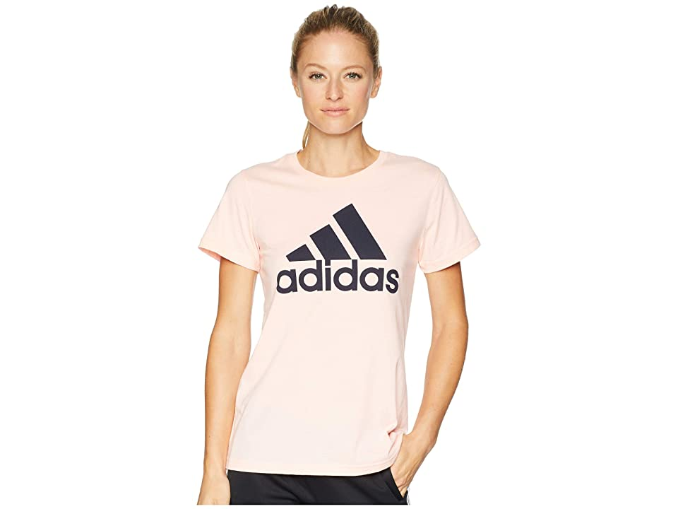adidas Badge of Sport Tee (Haze Coral) Women