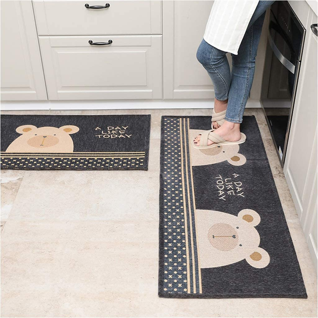 Directly managed store OFFer Mat Creativity Non-Slip Kitchen Waterproof Bathroo Blended Strip