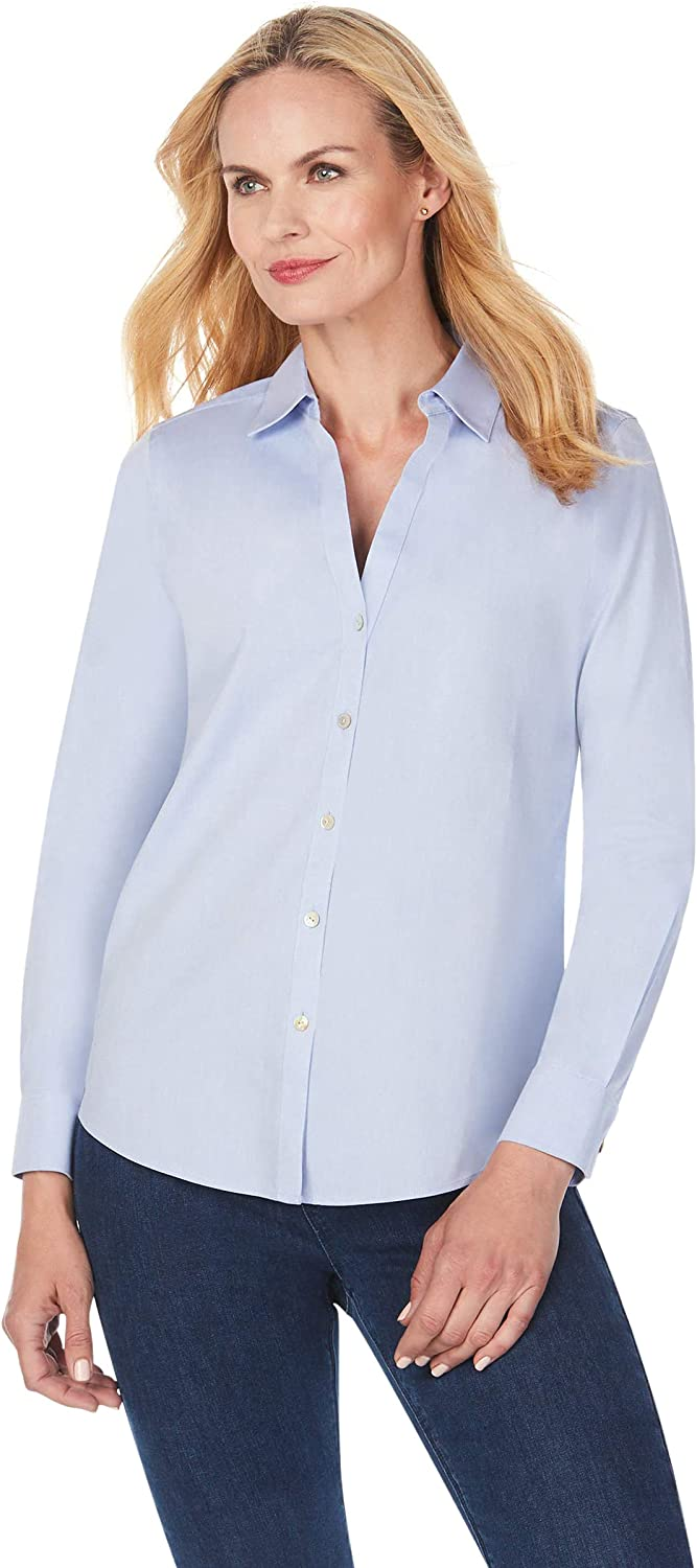 Foxcroft Max Max 40% OFF 51% OFF Women's Chrissy Shirt Essential Non-Iron
