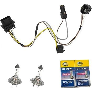 [DVZP_7254]   Amazon.com: CF Advance For 96-03 Mercedes-Benz E300 E320 E420 E430 E500 E55  AMG Headlight Wiring Harness and H7 100W Headlight Bulb 1996 1997 1998 1999  2000 2001 2002 2003: Automotive | Mercedes Benz 2000 E320 Headlight Wiring Harness |  | Amazon.com