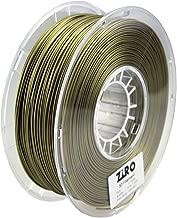 ZIRO 3D Printer Filament PLA 1.75 1KG(2.2lbs), Dimensional Accuracy +/- 0.05mm, Bronze