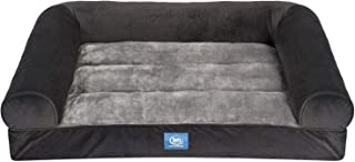 An Item of Serta XL Round Bolster Couch Pet Bed 40