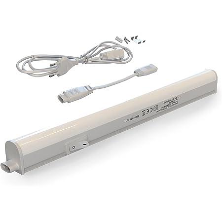 Réglette LED - Réglette sous meuble - réglette sous meuble cuisine - réglette sous meuble de rangement - éclairage sous meuble de cuisine - éclairage cuisine - éclairage fonctionnel -blanc