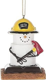 S'Mores Fireman Christmas/ Everyday Ornament