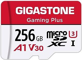 Gigastone マイクロSDカード 256GB Micro SD Card Nintendo Switch 動作確認済 SD アダプタ付 adaptor MicroSDXC A1 U3 V30 C10 100MB/S 高速 microsdカ...