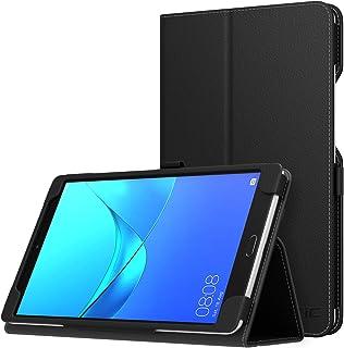 Huawei MediaPad M5 8.4 ケース - ATiC Huawei MediaPad M5 8.4インチタブレット専用薄型スタンドケース BLACK